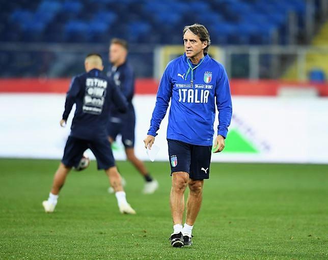 """Mancini: """"Juve favorita per lo scudetto, poi Napoli e Inter"""""""