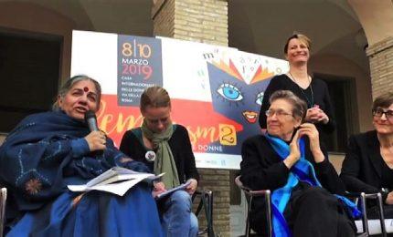 """Vandana Shiva: """"Scriverò a Raggi, difendo la Casa delle Donne"""""""