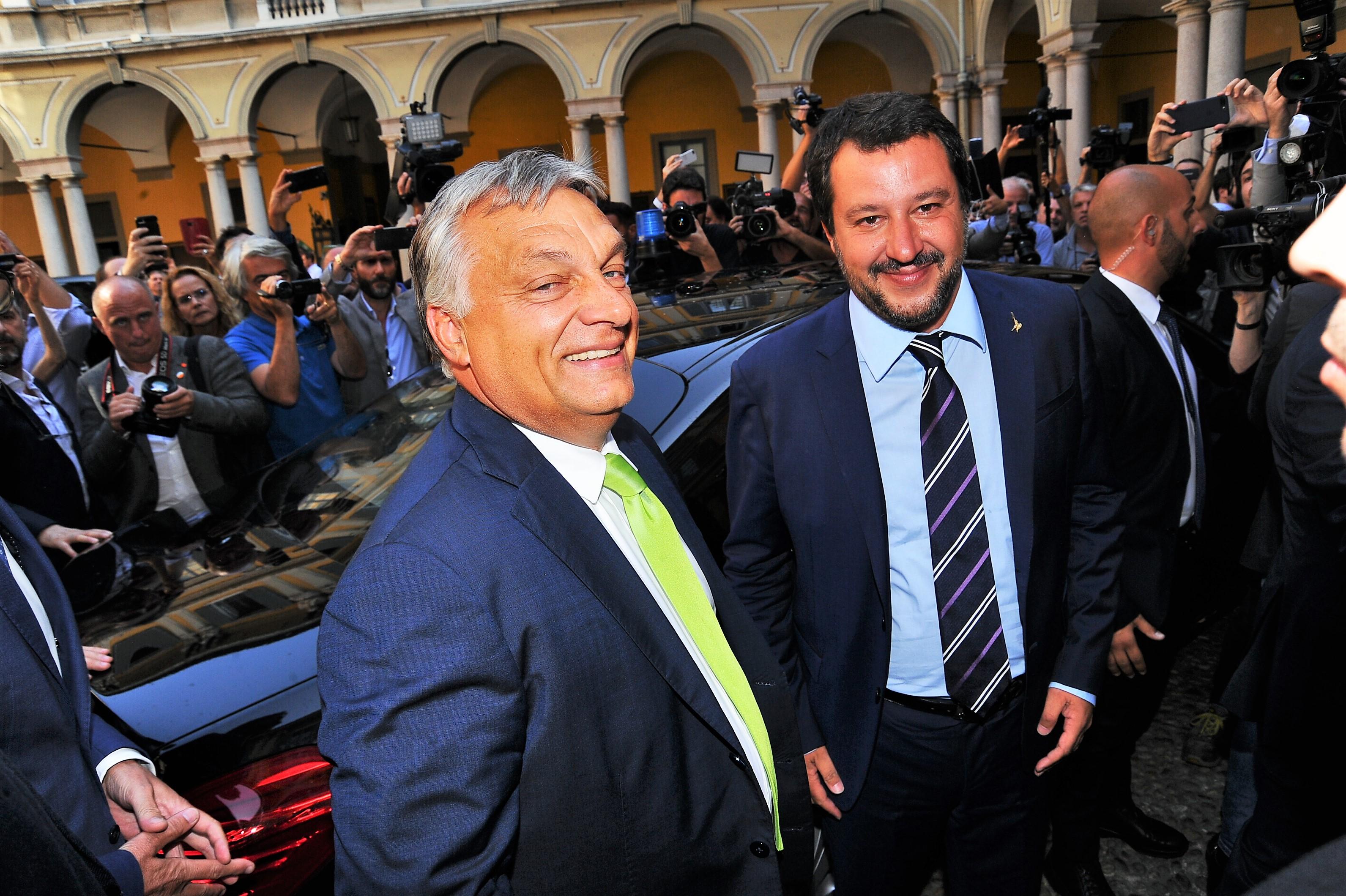 La Lega guarda a Orban, verso kermesse populisti a Varsavia. C'è pure Putin