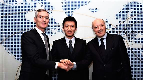Inter, lungo vertice a Romatra Marotta e Zhang Jindong