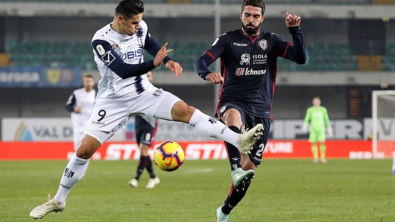 Cagliari vince sfida salvezza, per Chievo è dura