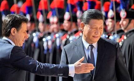 Xi a Mattarella, intensificata amicizia Italia-Cina. Firmato il memorandum