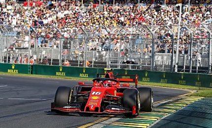 La Ferrari vola in libere Bahrain, Leclerc meglio di Vettel