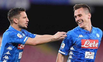 Roma-Napoli 1-4, giallorossi sconfitti tra fischi dei tifosi