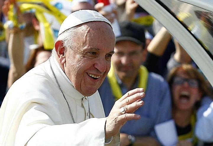Papa Francesco è al Santuario di Loreto