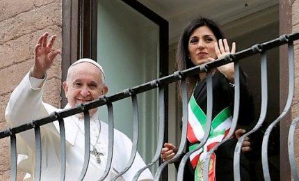 Papa Francesco in Campidoglio: Roma resti maestra d'accoglienza