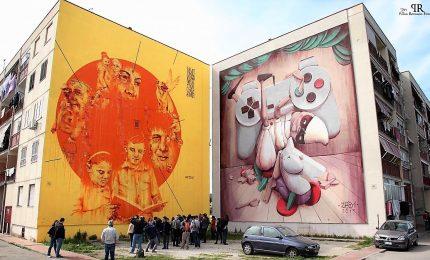 Parco Murales a Ponticelli, la street art diventa sostenibilità