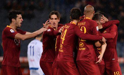 Ranieri buona la 'prima', Schick e Var domano l'Empoli