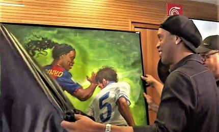 Una mostra al Maracana per celebrare Ronaldinho