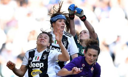 Juve batte 1-0 Fiorentina e si avvicina a scudetto