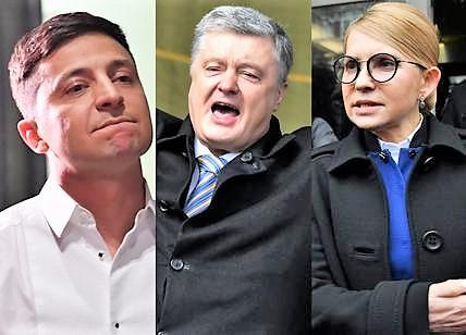 Ucraina al voto, corsa a tre. Zelensky in testa, il comico anti-establishment