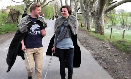 "Boom di turisti in Irlanda del Nord, febbre da ""Game of Thrones"""
