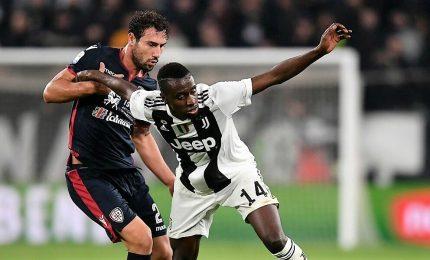 La Juve non si ferma, 2-0 di scuola al Cagliari