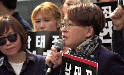 Corea del Sud, divieto di aborto dichiarato incostituzionale
