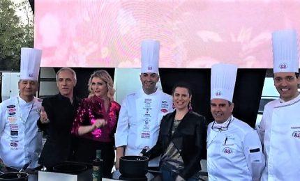 Da Sanremo ai fornelli, i Jalisse sfidano Silvia Salemi in cucina
