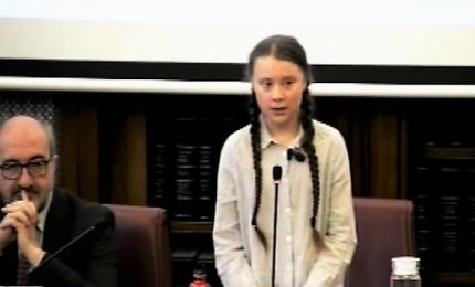 Greta Thunberg in Senato, il nostro futuro è stato venduto