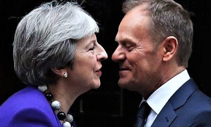 Telenovela Brexit: May chiede rinvio a 30 giugno, Consiglio Ue ipotizza un anno