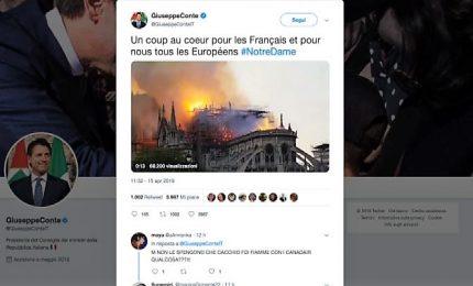 Incendio a Notre Dame, le reazioni dei leader di tutto il mondo