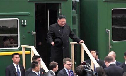 Kim Jong-un in Russia per il primo vertice con Putin