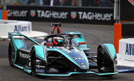 La Jaguar di Evans vince l'E-Prix di Roma, secondo Lotterer (Ds)