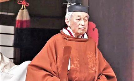"""Ultimo discorso Akihito: """"Grazie al popolo giapponese"""". Il Tenno che ha regnato sull'era Heisei"""