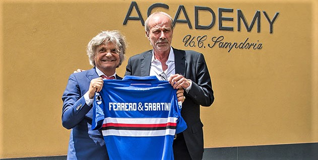 Nervi tesi Samp, lite con Ferrero e Sabatini lascia