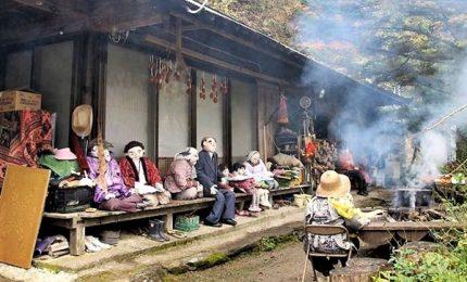 Nagoro, il villaggio fantasma giapponese abitato dalle bambole
