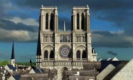 Notre Dame, com'era nel Medioevo? La ricostruzione in 3D