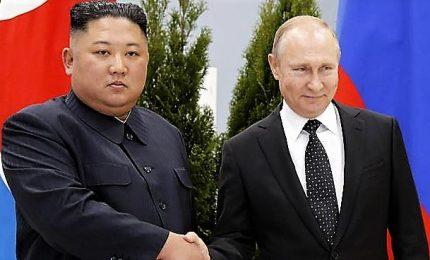 Putin avverte Trump, a Kim più garanzie per denuclearizzazione del NordCorea