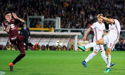 Torino sale in zona Champions e inguaia Gattuso