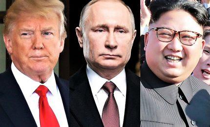 """Svolta Nordcorea: Schiaffo di Kim agli Usa, vede Putin e """"silura"""" Pompeo. Nuovi test nucleari"""