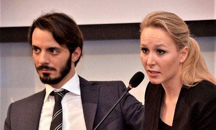Salvini chiude la lista, con Lega economisti sovranisti e fidanzato di Le Pen