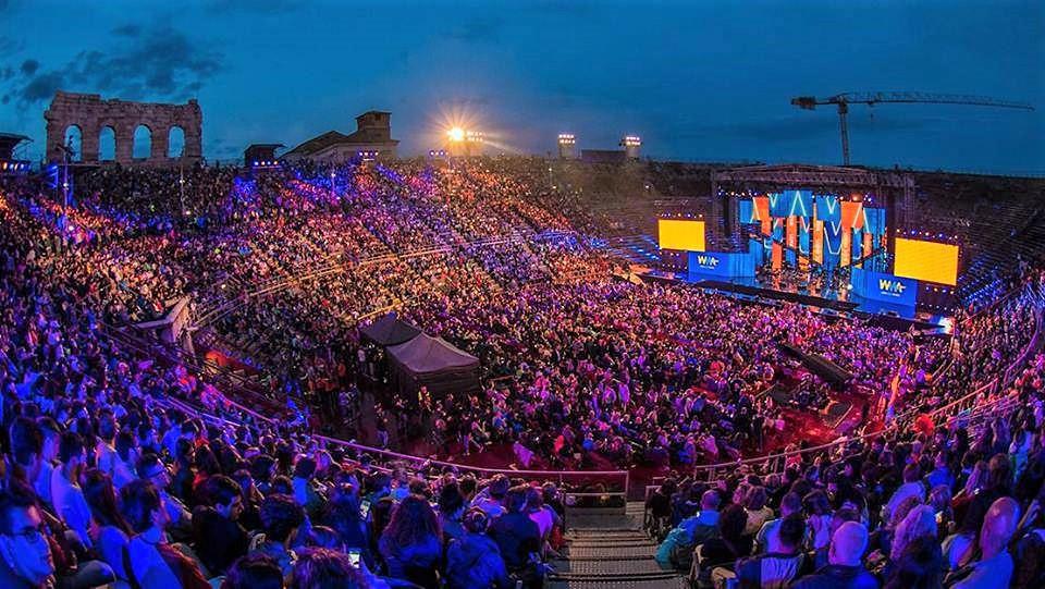 Tornano all'Arena di Verona i Music Awards 2019