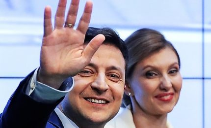"""Zelensky nuovo presidente ucraino con il 73%: """"Non vi deluderò"""""""