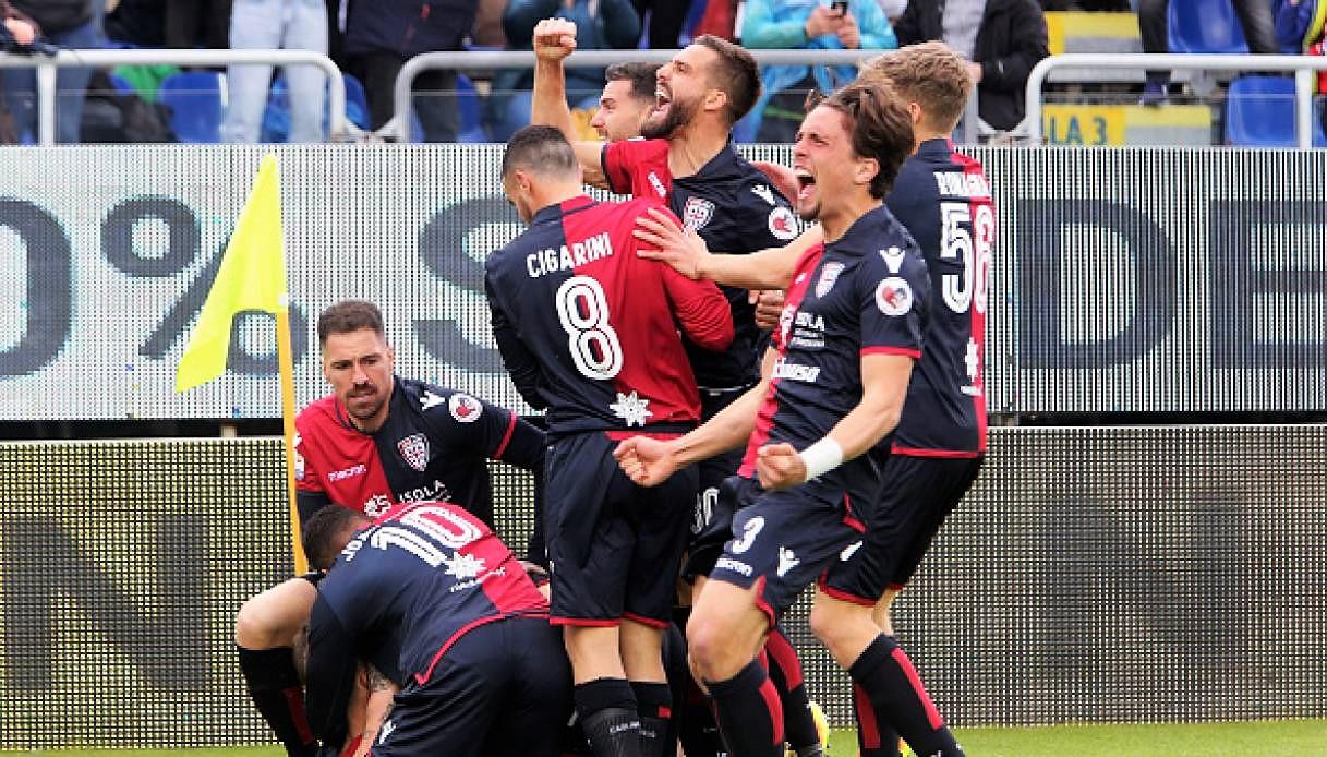 Cagliari in zona sicurezza, la Spal nella palude