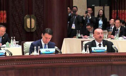 """Conte a Pechino per nuova Via della Seta: """"Opportunità storica"""""""