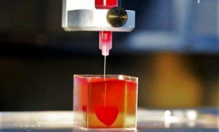 Presentato il primo cuore stampato in 3D con tessuti umani