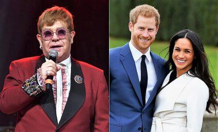 Elton John maestro di pianoforte del figlio di Meghan ed Harry