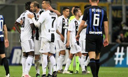 A Nainggolan replica Cr7, 1-1 tra Inter e Juve