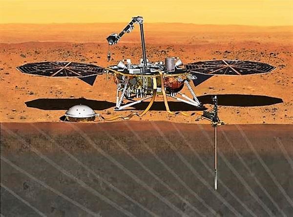 Marte, la sonda Insight della Nasa registra il primo sisma