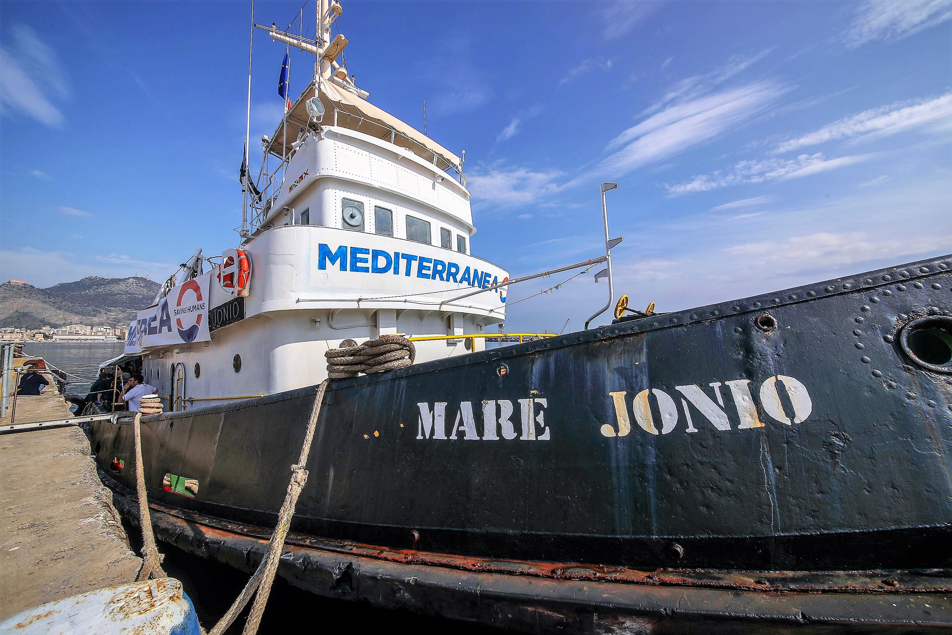 Migranti, pm non convalida sequestro nave Mare Jonio