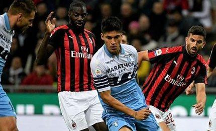 Milan-Lazio alta tensione, Kessie rigore da Champions