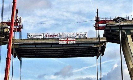 Ponte Genova: un palo a -46 metri, partita ricostruzione