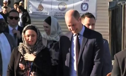 Christchurch, principe William omaggia sopravvissuti della strage