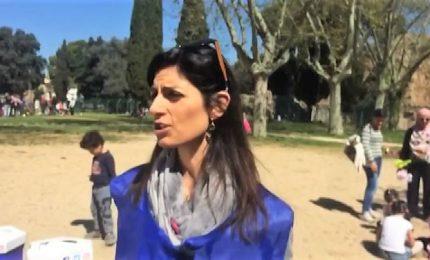 """""""Bella, Roma"""", Raggi al Colle Oppio per la giornata di Retake"""