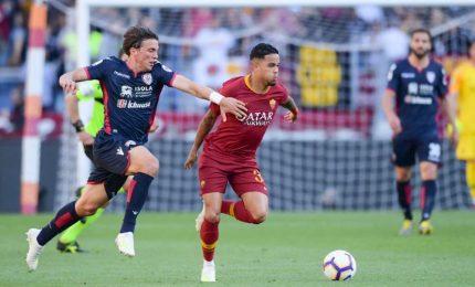Pastore risorge e la Roma passeggia col Cagliari