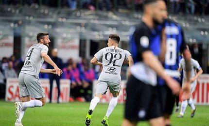 Inter-Roma 1-1, pari lascia aperta la corsa Champions