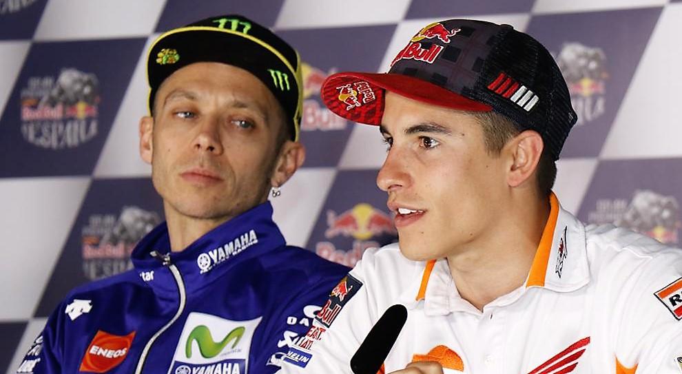 """Caccia a """"re"""" Marquez, fiducia su Rossi"""