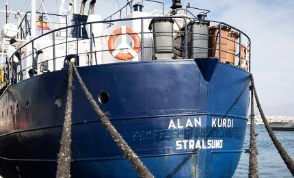 Alan Kurdi approda a Taranto, ora scatta il rinnovo Memorandum