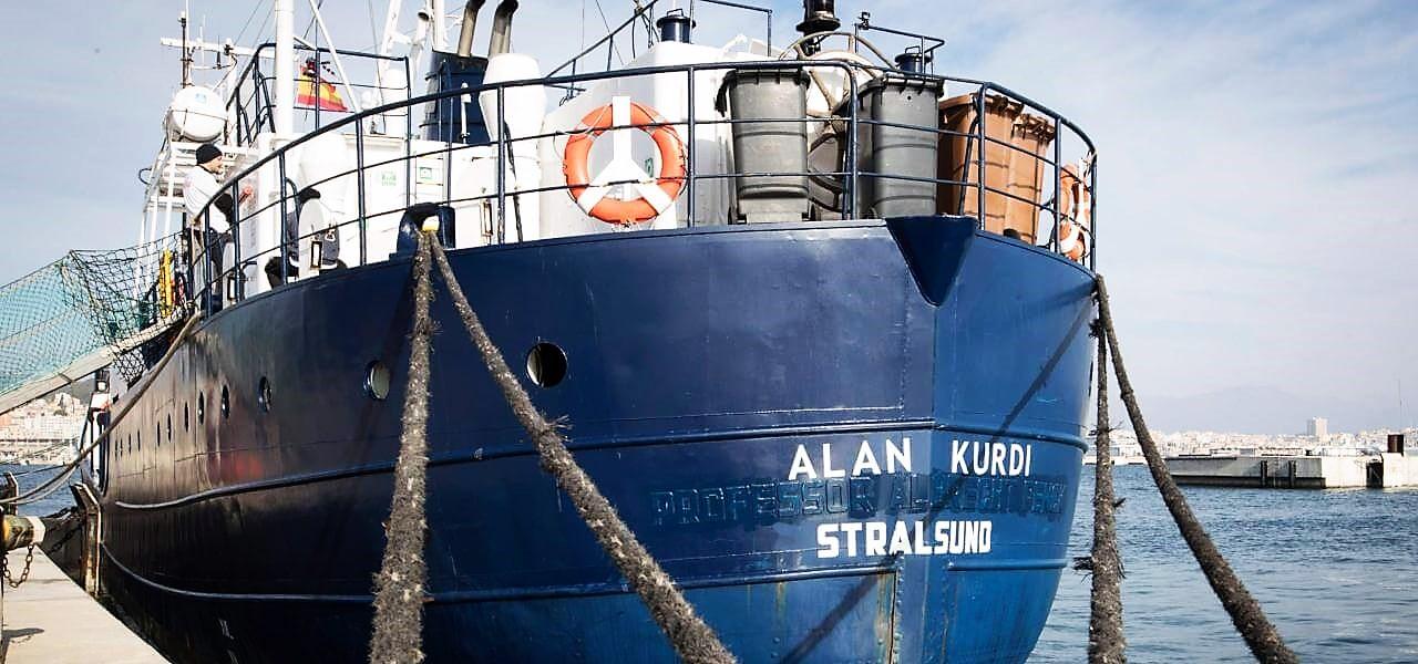 "Migranti, Alan Kurdi: ""No Italia a richiesta ingresso"""